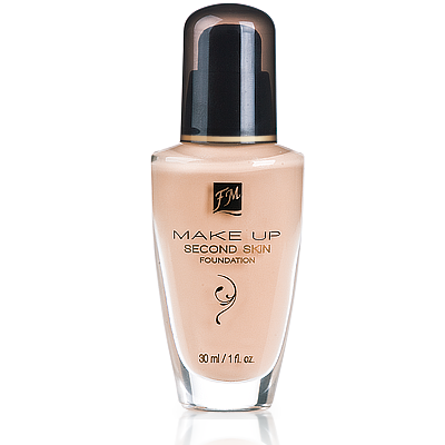 fl05 - Make-up SECOND SKIN FOUNDATION Natural Cream